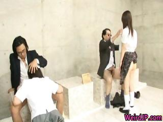Super horny japanese babes in extreme part5
