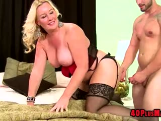Blonde Housewife Anal Insertion