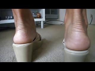 My Ex's Rough Sexy Feet 7