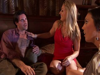 Threesome with Avy Scott and Dylan Ryder