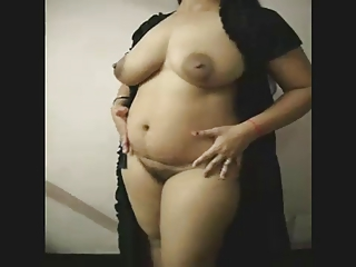 sexy INDIAN Persuasive BHABHI strip
