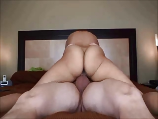 Amateur takings fit together creampied on homemade