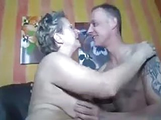 Guy fucks older granny in this porno