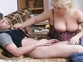That old couch is ready to see many things like this old broad pussy