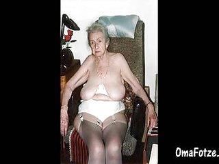 OMAFOTZE Saggy granny tits