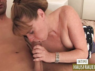 Ugly bitch gets a cock
