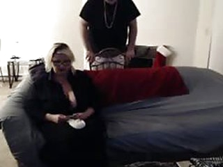 Busty Blonde Maid Needs Cash Fast !
