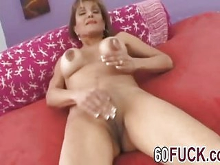 Sofia Soleil mature shaved pussy fucked